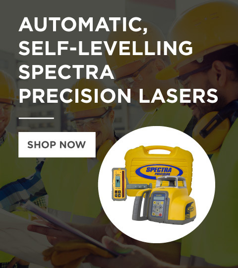Automatic, self-levelling Spectra Precision Lasers