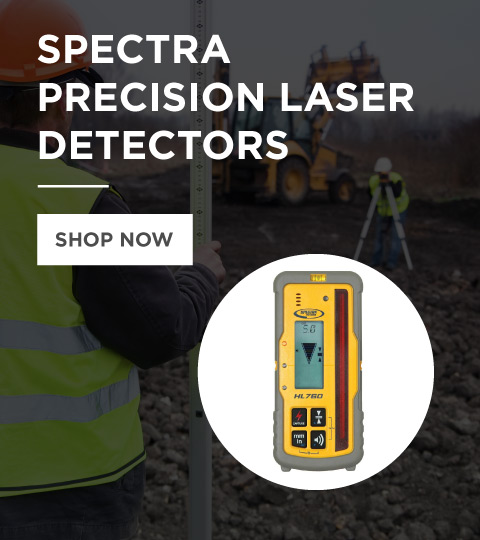 Spectra Precision Laser Detectors